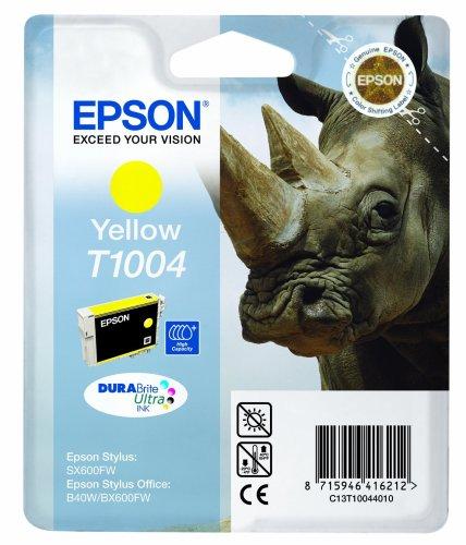 Epson T1004 Cartouche d'encre d'origine Durabrite Jaune