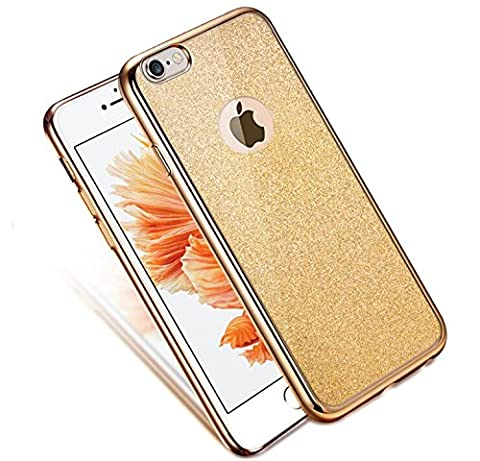 TPU Coque pour iPhone 6S, Sunroyal® Bling Ultra Mince Paillette