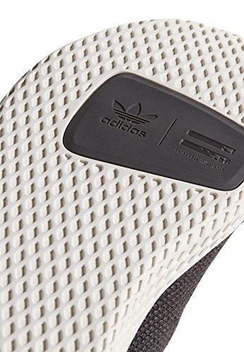 Adidas Pharrell Williams Tennis Hu Uomo Sneaker Grigio Scuro Grigio (carbonio / Bianco Gesso)