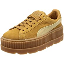 Puma x Fenty Cleated Creeper Suede Golden Brow by Rihanna