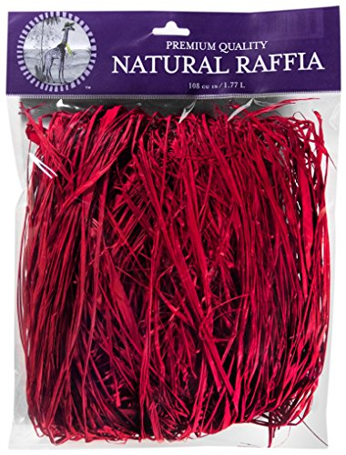 Supermoss Bast 108 in3 Bag (Appx. 2oz) Christmas Red