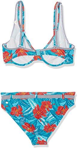 ESPRIT Damen Bikinioberteil Blau (Turquoise 470)