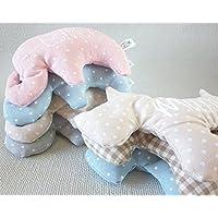 Saquito térmico de semillas para bebé y personalizado. Nuestro saco térmico es ideal para aliviar los cólicos, calentar la cuna y relajar a tu bebé. *Disponible varias formas
