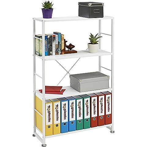 Genuine Piranha BALLAN Stylish 4 Shelf Bookcase to match our Range of Home Office Furniture PC 12s by Piranha Trading
