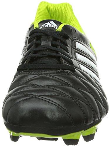 adidas 11Questra Trx Fg, Chaussures de football homme Noir (Noir1/Blanc/Solsli)