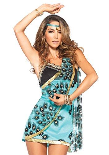 Leg Avenue - Indische Tänzerin Kostüm - türkis/schwarz (Asiatische Indische Kostüme)