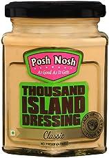 Posh Nosh Eggless Thousand Island Dressing 240g (Classic) (Veg + No Preservatives)