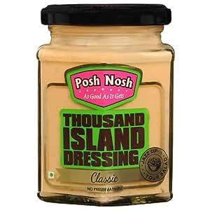 Posh Nosh Thousand Island Dressing 240 gm (Classic Flavour)