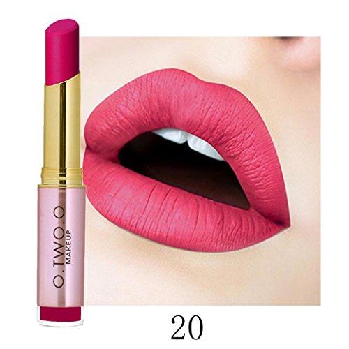 Tefamore Dames Maquillage de beauté Imperméable Sexy Rouge à lèvres hydratant Longue...