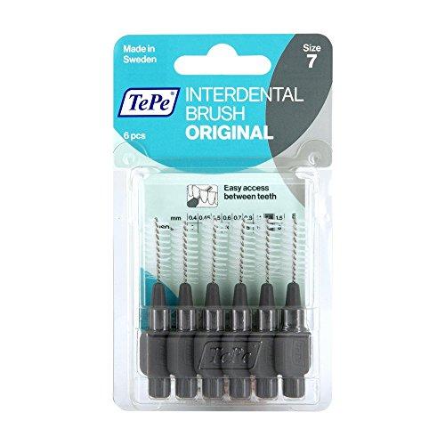 TEPE Interdentalbürste 1,3mm grau 6 St Zahnbürste