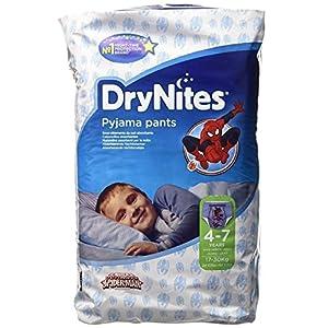 Huggies 4-7Jahre DryNites Pyjama Pants Spiderman 30pro Packung