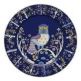 Iittala 1012438 Taika Teller flach 30 cm, blau