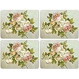 Pimpernel Antique Rose Placemats - Set of 4 (Large)