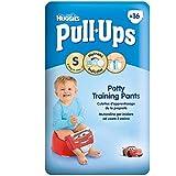 Huggies Pull-Ups Pantalons de formation de pot pour les garçons Taille 4 Petit 8-15kg (16) - Paquet de 2