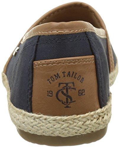 Tom Tailor 2792010, Espadrilles Femme Bleu (navy)