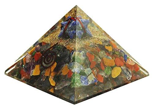 HARMONIZE generador de Energía de Cristal Semipreciosa Pirámide Chakra Reiki