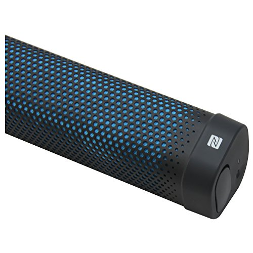 Denon DSB100BKEM Envaya Mini tragbarer Bluetooth Lautsprecher (NFC, AUX-Eingang, Mikrofon für Freisprechfunktion, Akku) schwarz