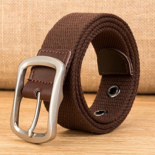 LLZZPPD Cinturón De Lona Cinturón De Lona Cinturones