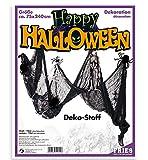 Halloween Dekostoff schwarz ca. 75 x 240 cm Halloween Party Dekoration Deko Accessoire *NEU bei Pibivibi©