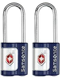 Samsonite  Travel Accessoire Cadenas à Clé TSA, 7 cm, Indigo Blue 61599/1641