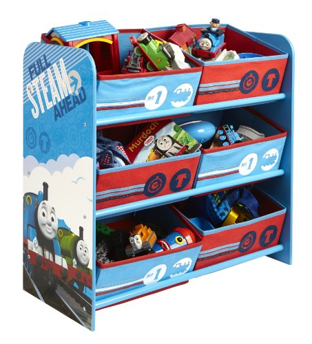 thomas-le-train-864730-rangement-avec-6-paniers-bois-bleu-60-x-635-x-30-cm