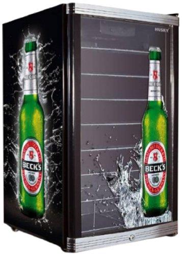 Preisvergleich Produktbild Husky Highcube Becks Flaschenkühlschrank