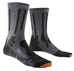 X-Socks Erwachsene Funktionssocken Trekking Merino Light, Anthracite, 39/41, X020435