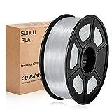 SUNLU Filamento per Stampante 3D, Filamento PLA 1.75, Tangle Free Filamento PLA, 1KG Trasparente...