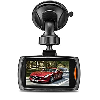 2,4Zoll Auto kamera, Full HD 720P,100 Grad Weitwinkel Nachtsicht Fahrzeug Kamera Video Recorder ,Loop Recording, Parkmodus
