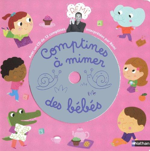 Comptines à mimer pour bébés livre (C...