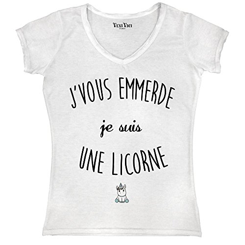 Veni Vici Damen T-Shirt Weiß