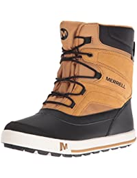 Merrell ml-b Snow Bank 2.0 Waterpoof, Chaussures de Randonnée Hautes Garçon