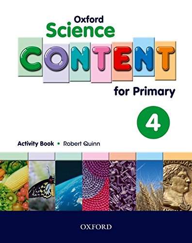Science Content 4th Primary Activity Book - 9780194637152