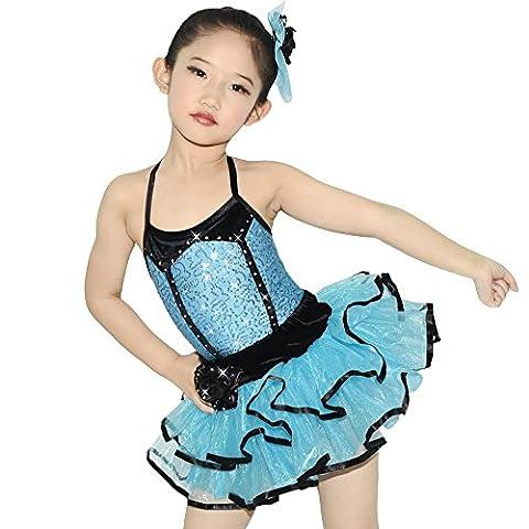 Costumes Velvet Ballet - Midee Ballet Tutu Danse Costume 2pièces 3couleurs