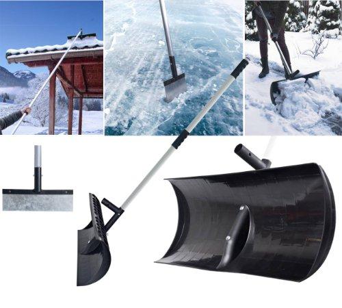 Preisvergleich Produktbild Schneeschaufel, Schneeroller und Eispickel in einem! ROOF MASTER - 3 in 1 - mit Teleskopstange erweiterbar bis 3,32 m. So befreien Sie auch Dächer im Handumdrehen von Schnee! TOPP Neuheit!
