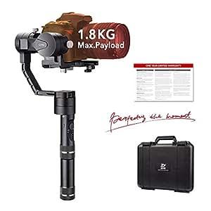 Zhiyun Crane V2 3 Axis Handheld Gimbal Stabilisateur pour appareil photo sans miroir et DSLR jusqu'à 3.96lb. C'est-à-dire série Canon M, Series Nikon J, Sony A7 et Panasonic Lumix