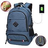 USB-Aufladung-Port-15 Zoll-Business-Laptop-Rucksack für Damen und Herren, mit...