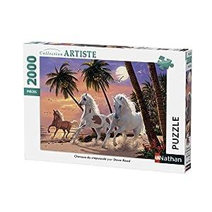 Nathan-Puzzle Caballos del Atardecer 2000Piezas, 87882