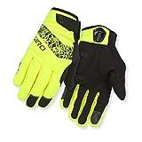 Giro Candela Damen Winter Fahrrad Handschuhe lang gelb/schwarz 2016: Größe: L (8)