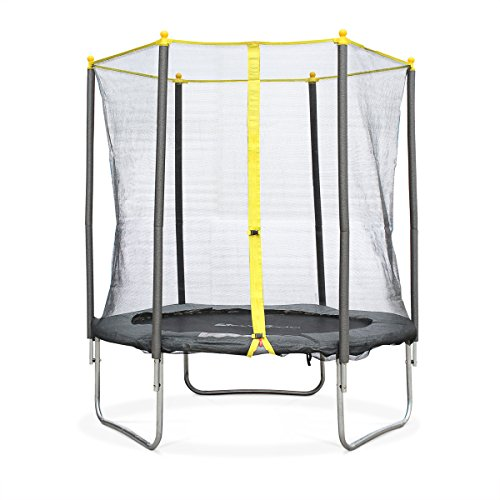 Alice's Garden - Cama elástica, Trampolin de 180 cm, altura de la red de seguridad 160 cm - NAOS - Alice's Garden