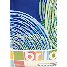 Bassetti Coleccion Brio.- Conjunto de funda nordica Impression V3 Azul para cama de 150 cm (4 piezas)