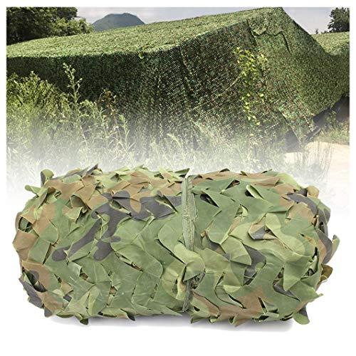 Tarnnetz 2x3m 8m 10m Isolationsplane Sonnenschutz Mesh Sonnenschutz Oxford Stoff Markise Camo Sonnenschutznetz für Jagd Outdoor Camping Verstecken Zeltabdeckung Green Garden Dekoration ( Size : 3x6m )