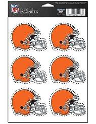 Cleveland Browns 6-Pack Magnet Set