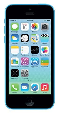 Apple iPhone 5C Bleu 16Go Smartphone Débloqué (Reconditionné