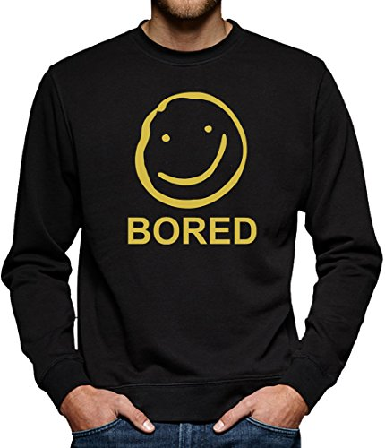 TLM Bored Sweatshirt Pullover Herren S (Holmes Kostüme Halloween Und Watson)