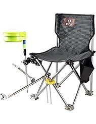 Angeln Arm Stuhl Sitz + Pod Stange Rest Ideal für grobe und Karpfen Angeln