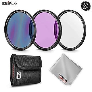 Zeikos ZE-FLK67 67mm Multi-Coated 3 Piece Filter Kit (UV-CPL-FLD) (B001KN766W) | Amazon price tracker / tracking, Amazon price history charts, Amazon price watches, Amazon price drop alerts