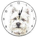 Designer Christine Varley Westie West Highland Terrier Hund Hergestellt in UK Geschenk Qualität Uhr