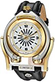 GV2 by Gevril Men's Analog Swiss-Automatic Watch with Leather Calfskin Strap 3403