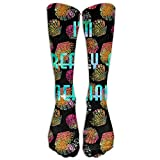 Gped Kniestrümpfe,Socken I'm Really A Mermaid Casual Unisex Sock Knee Long High Socks Sport Athletic Crew Socks One Size